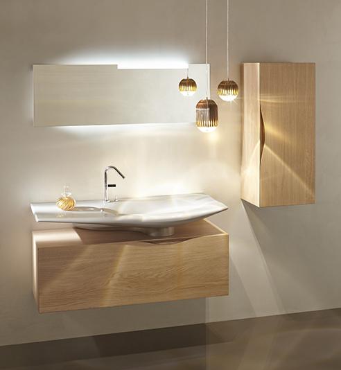 muebles de baño Jacob Delafon roso